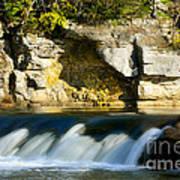 A Quiet Place  Waterfall Art Print