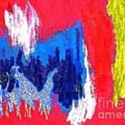 Abstract Tn 005 By Taikan Art Print