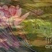 A Splash Of Lily Art Print