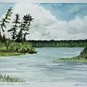 Allequash Lake Art Print
