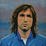 Andrea Pirlo Art Print by Paul Meijering