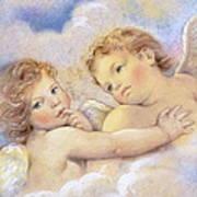 Angels In The Sky Art Print