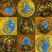 Autumn  Spheres Art Print