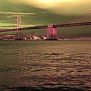 Bay Bridge, San Francisco Art Print