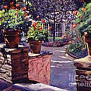 Bel-air Gardens Art Print by David Lloyd Glover