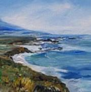 Big Sur Coastline Art Print