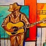 Bluesman Art Print