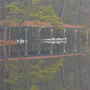 Boat Dock Reflection Art Print