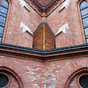 Buda Reformed Church Architectural Details Art Print