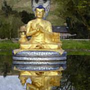 Buddha 25 Art Print