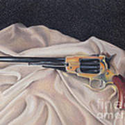Buffalo Blackpowder Revolver  Art Print by Elizabeth Dobbs