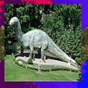 Canadian Dinosour Museaum    Canada Is Rich In Fossils Especially The Provinces Of Alberta And Bri Art Print