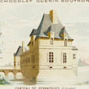 Chateau De Fervacques (calvados) Art Print