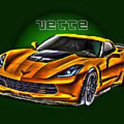 Chevrolet Corvette Z06 Art Print