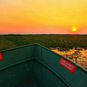 Chobe River Sunset Art Print
