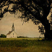 Church On The Plain Art Print