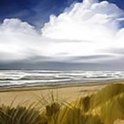 Coastal Breeze Art Print