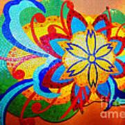 Colorful Tile Abstract Art Print