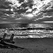 Colorless Sunset Art Print by Bob Jackson