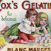 Cox's Gelatine For Delicious Art Print