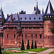 De Haar Castle 4. Utrecht. Netherlands Art Print
