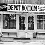 Depot Bottom Country Store Art Print by   Joe Beasley
