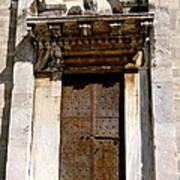 Doorway To The Duomo Art Print