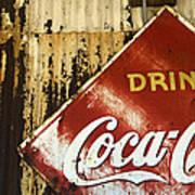 Drink Coca Cola  Memorbelia Art Print