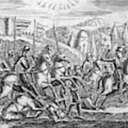 English Soldiers Under Edward  IIi Art Print