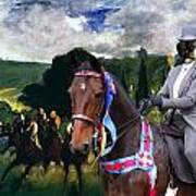 Entlebucher Sennenhund  - Entelbuch Mountain Dog Art Canvas Print -who Is The Winner Of The Race Art Print