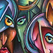 ' Face Us 2' Art Print