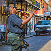Feel It - Doreen's Jazz New Orleans 2 Art Print