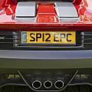 Ferrari Sp12 Ec Art Print