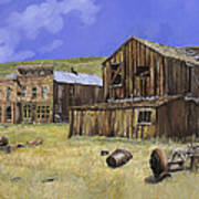 Ghost Town Of Bodie-california Art Print