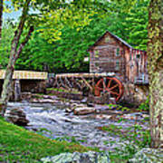 Glade Creek Gristmill Art Print