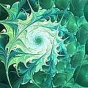 Green Magic Art Print