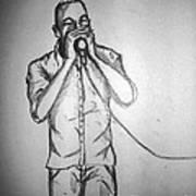 Harmonica  Sings Art Print