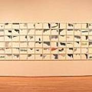 He Amazed At Art Art Print by Eric Martin Sr
