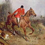 Hunting Scene Art Print