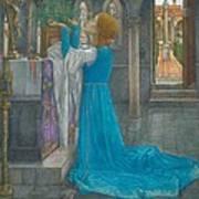 Isabella And The Pot Of Basil Art Print