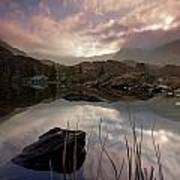 Llyn Ogwen Sunset Art Print