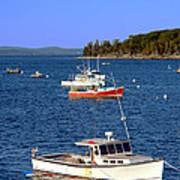 Maine Lobster Boat Art Print