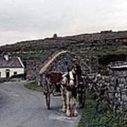 Making A Living On Inishmore - Aran Islands - Ireland Print by Nina-Rosa Duddy