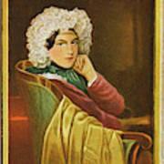 Marie Daffinger  Wife Of Artist Art Print