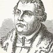 Martin Luther  Art Print