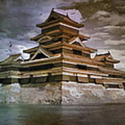 Matsumoto Castle  Art Print