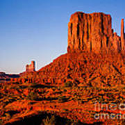 Monument Valley Sunset Art Print