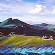 Mourne Mountains 1 Art Print