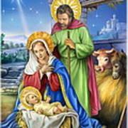 Nativity Of Jesus Art Print