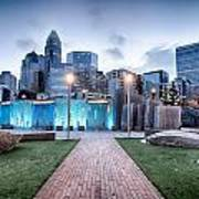 New Romare-bearden Park In Uptown Charlotte North Carolina Earl Art Print